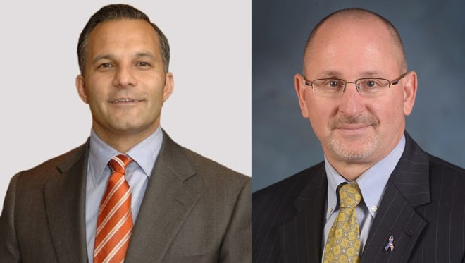 Rob Buccini of The Buccini/Pollin Group and Gary Stockbridge of Delmarva Power will be the newest inductees in the Delaware Business Leaders Hall of Fame.