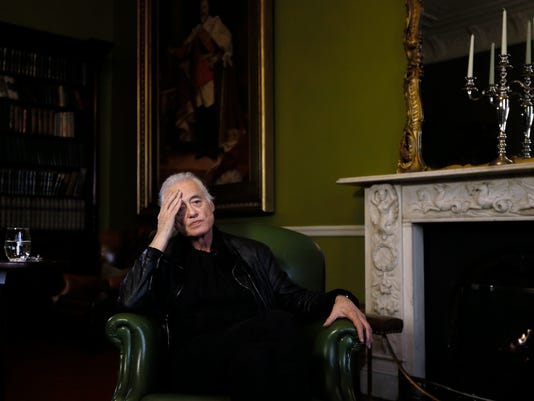 APTOPIX Britain Jimmy Page