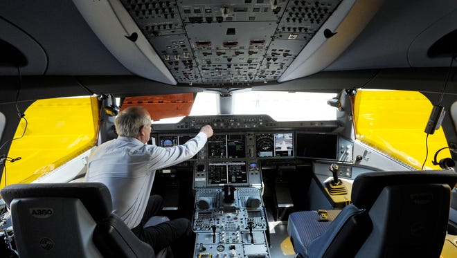 Pilots train and prepare for scenarios in which one can operate the plane if the the other is incapacitated.