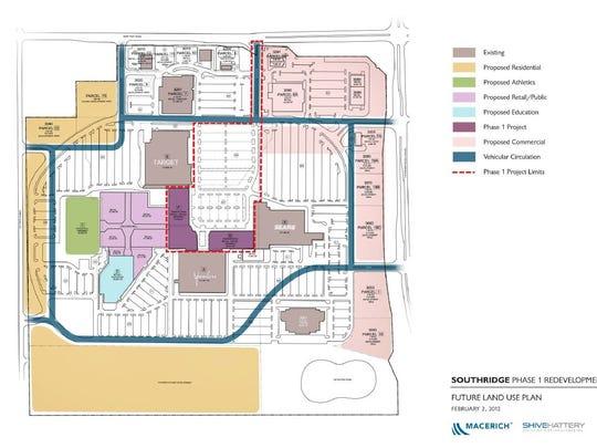 Macerich undertook a redevelopment plan for Southridge
