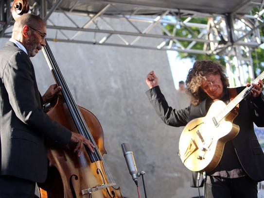 The  legendary Detroit-bred  bassist Ron Carter and