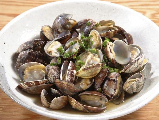 Drunken clams.