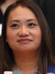 Maysee Yang Herr at the November 2014, 20 Under Forty