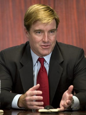 Kentucky Attorney General Jack Conway spoke to the Courier-Journal editorial board today.  (By Pat McDonogh, The Courier-Journal) Sept. 22 2011