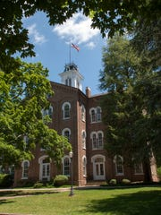 Anderson Hall, built over 140 years ago on the Maryville College campus, is seen here.