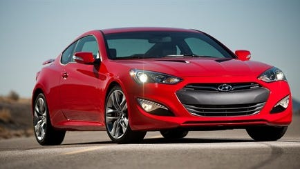 About 11,000 Hyundai Genesis coupes will be recalled in January due to loose suspension bolts.