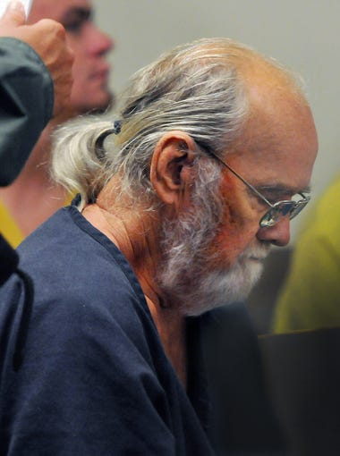 Frank Freshwaters appears at a hearing at the Brevard County Jail Complex in May 2015.