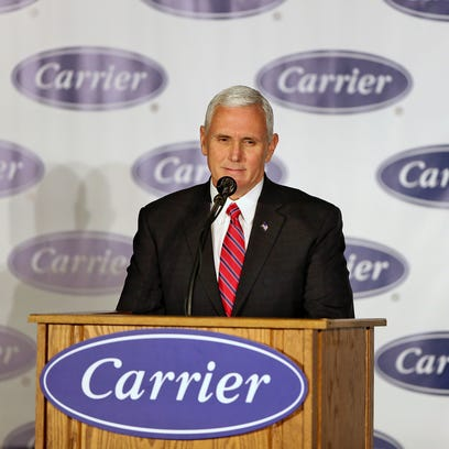 After Trump puts Rexnord on notice, Pence says deals will come on 'day-by-day basis'