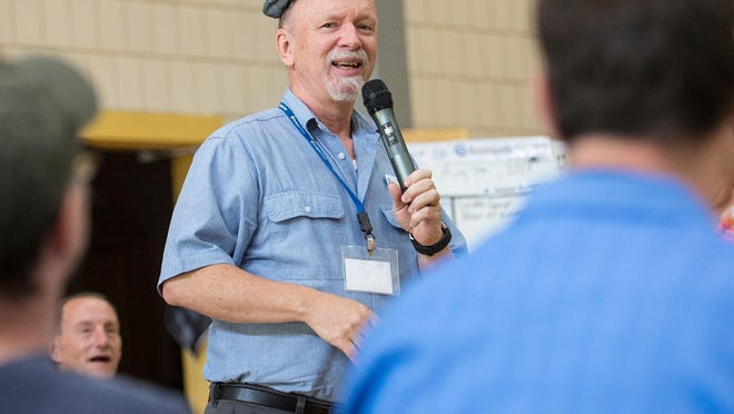 Group facilitator Craig Werth lends his talents and creativity to lead several programs for Krempels Center.
