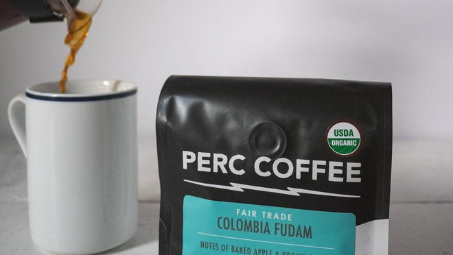 PERC Coffee's Columbia Fudam blend.