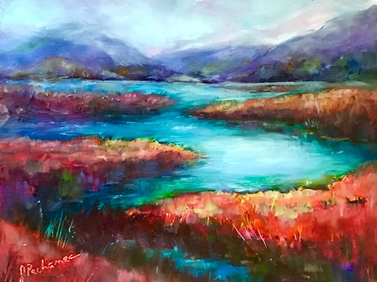 """""""Tranquility"""" by artist Joan Pechanec."""
