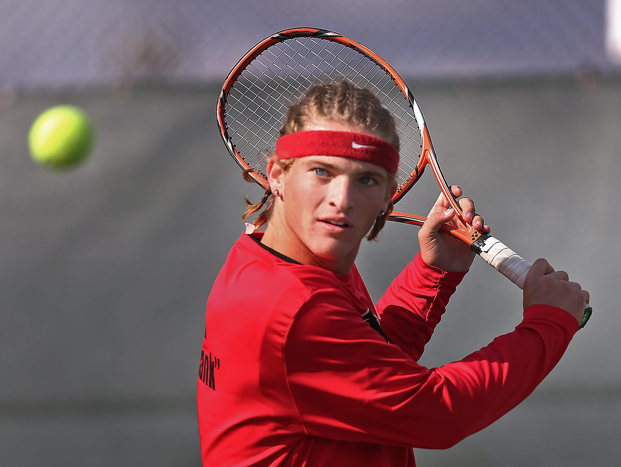 North Central's No. 1 singles player Steven Christie will compete in the individual state meet at Park Tudor.