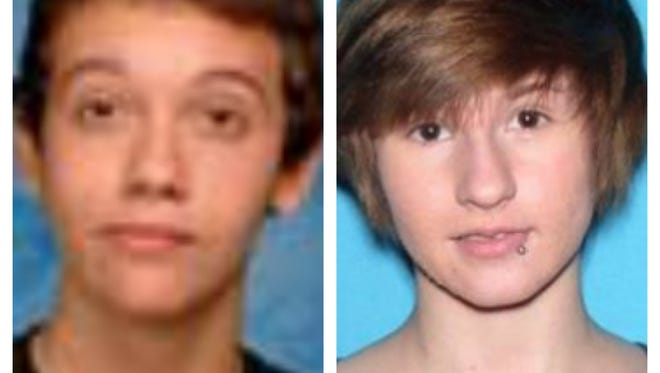 Zane Terryn, left, 15, and Morgan McNeil, 16. Both of Palm Bay