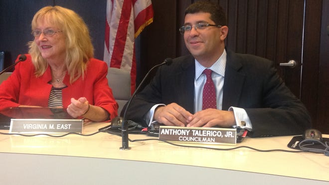 Virginia M. East (left) and councilman Anthony Talerico Jr. are running for Eatontown Borough Council as Independents.