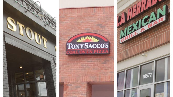 Stout Irish Pub in Brighton, as well as Tony Sacco's and La Herradura in Hartland Township each had two priority violations in February 2016.
