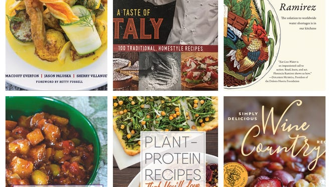 Ventura County authors and/or ingredients are featured in six cookbooks published in time for holiday gift-giving.