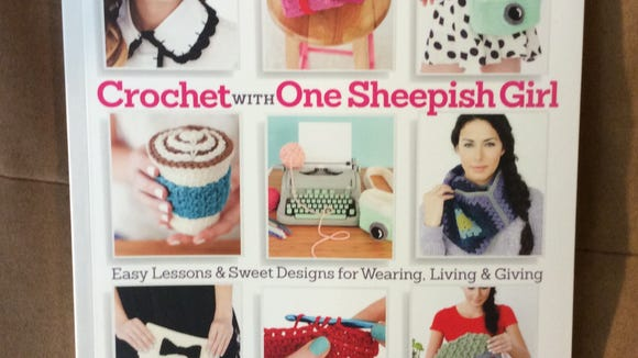 """Crochet with One Sheepish Girl"" is filled with little crochet projects that are useful and fun."