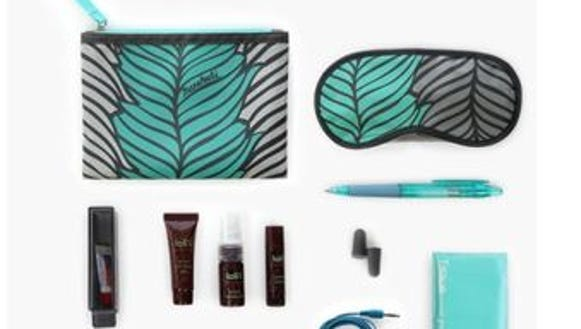 Hawaiian Airlines' new amenity kits feature a banana