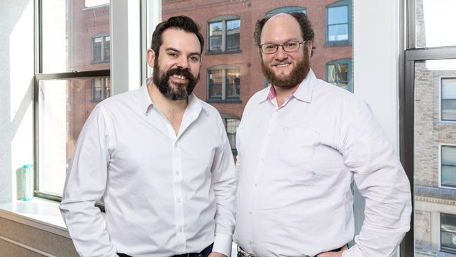 Knox Financial Co. founders Spencer Taylor, left, and David Friedman.