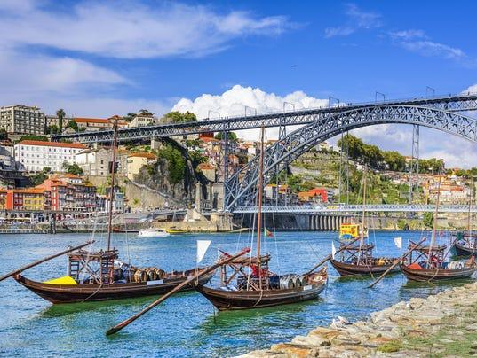 Porto, Portugal Cityscape