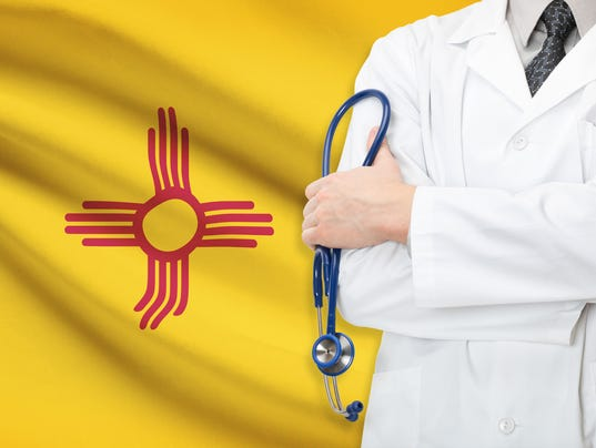 Concept of US healthcare system - state of New Mexico