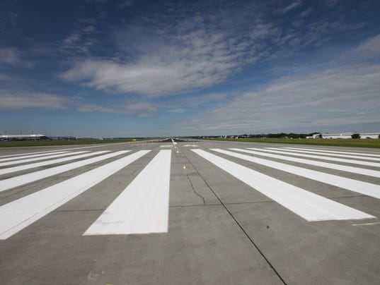 #stockphoto Airport Runway Stock Photo