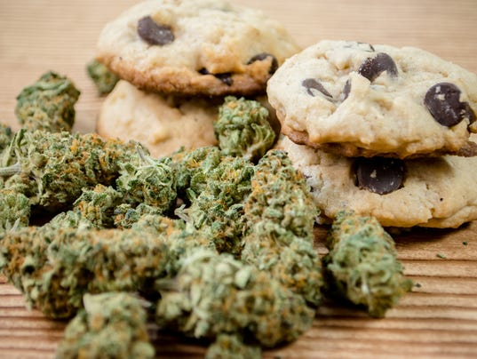Chocolate chip cookies and pot