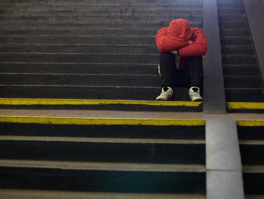 Teen Depression Mental Health Generic Stock Image