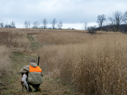 Man and His best friend hunting