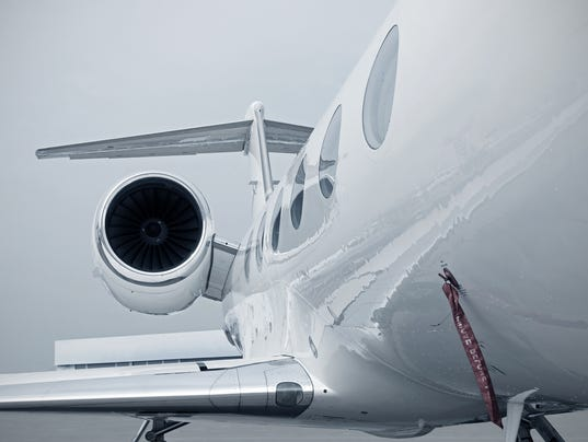 Business Jet engine