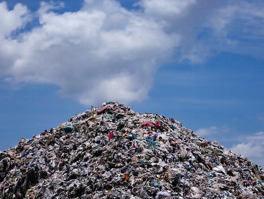 #stock Landfill Stock Photo