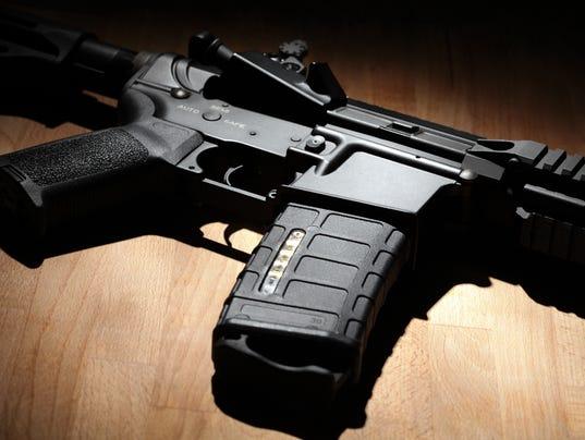 AR-15 (M4A1) carbine close-up