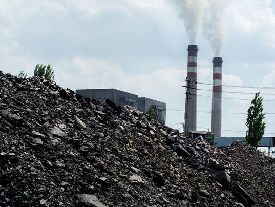 Coal Pile and Pollution
