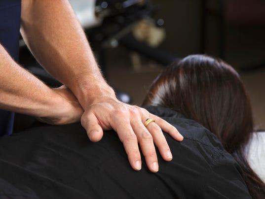Chiropractor Patient