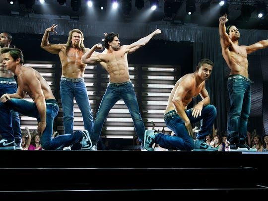 "The ""Magic Mike"" movies have inspired several male dance revues playing the area for deer widows weekend."