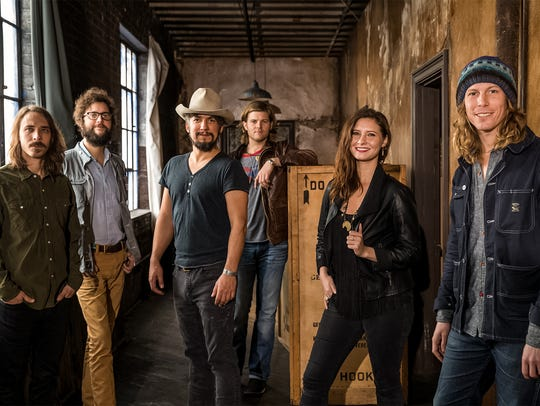 The Black Lillies perform as the headliners with the