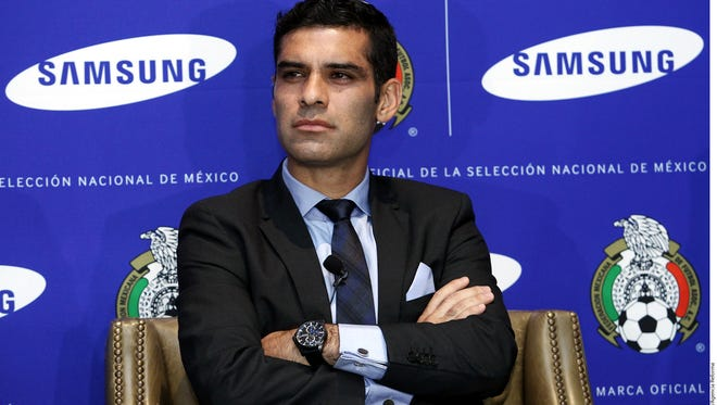 Rafael Márquez, defensa de la selección mexicana de futbol.