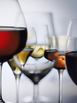 As a general rule, Washington State wines tend to have lower alcohol content than their California counterparts, and their grapes achieve optimal ripeness largely due to the greater amount of sunlight. THINKSTOCK Red and white wine glass on white background, close-up