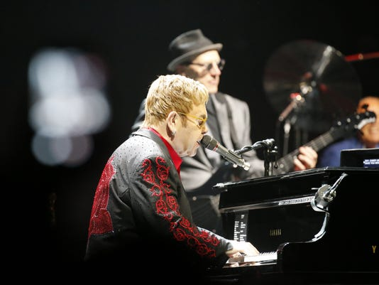 Elton John at the Don Haskins Center