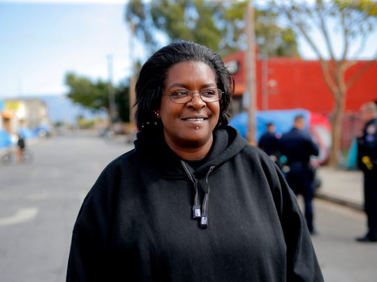 Yolanda Harraway lived in Chinatown for years until becoming sober, getting into housing and receiving her high school diploma in the last several months. Now,  she would like to help others grappling with the same issues.