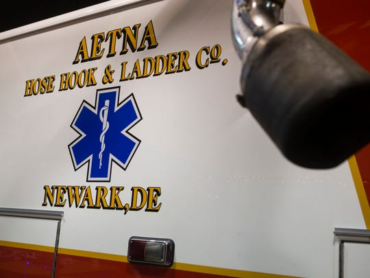 AETNA Hose Hook & Ladder Co. have partnered with the University of Delaware to help give students with an interest in the medical field a hands-on experience training with EMTs.
