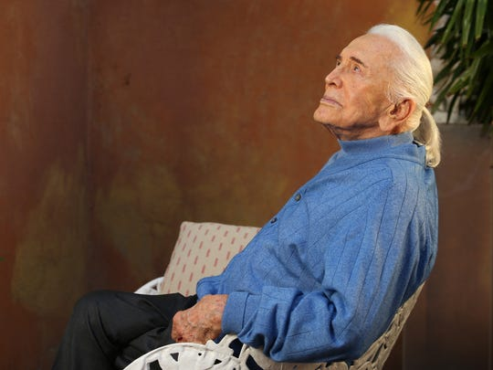 On the eve of Kirk Douglas's  98th birthday, he has