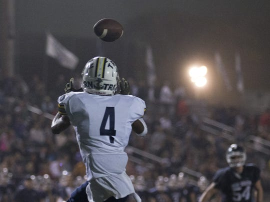 Toms River North, with receiver Darrion Carrington