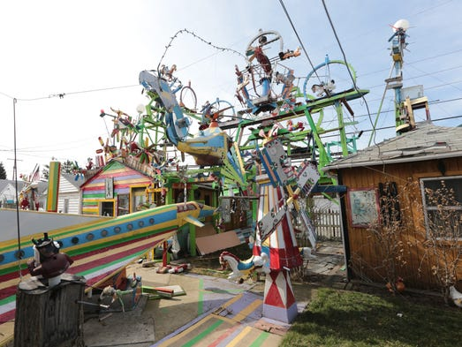Hamtramck Disneyland is how two homes have been known