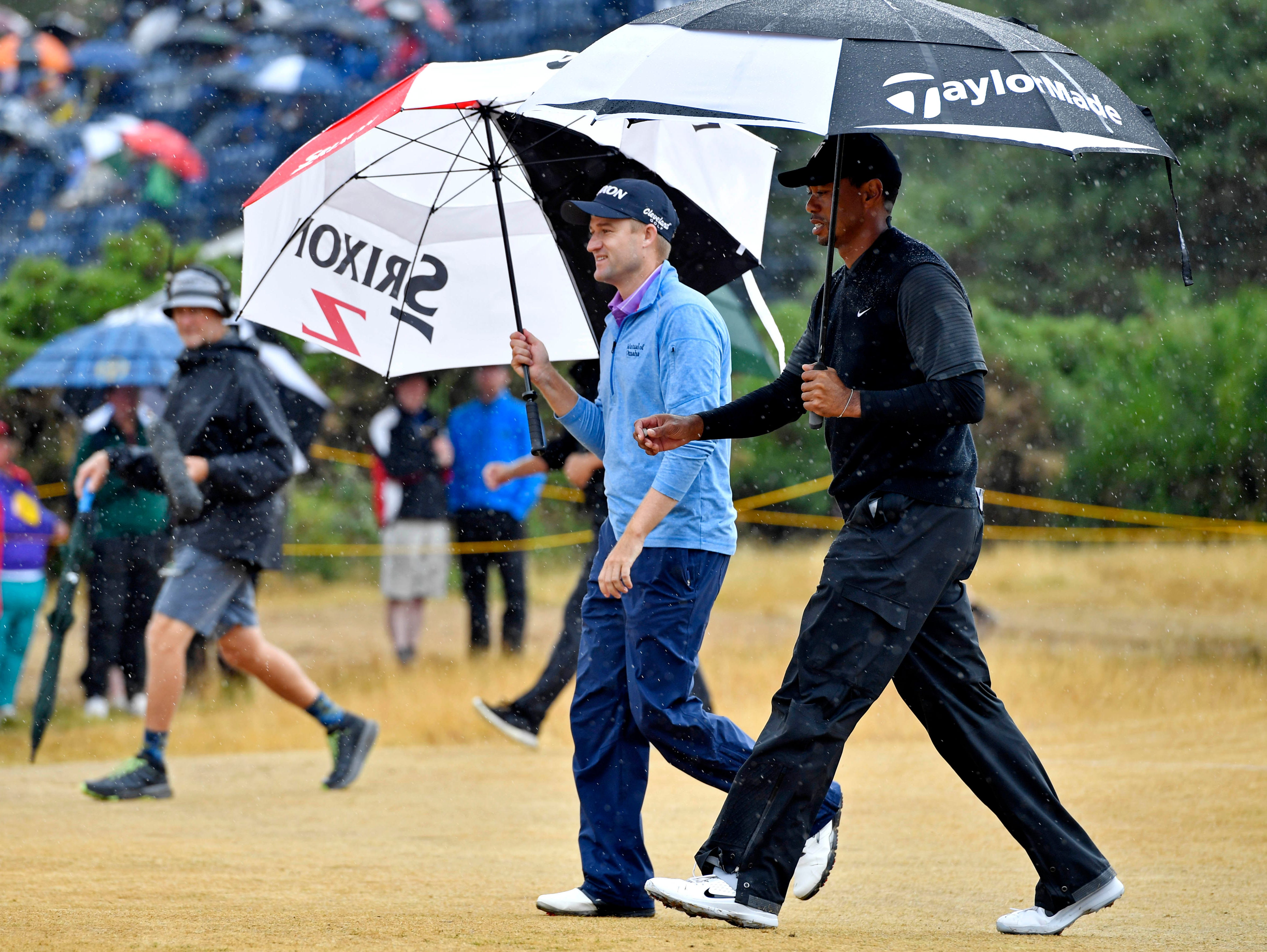 british open  final round tee times  pairings and tv schedule