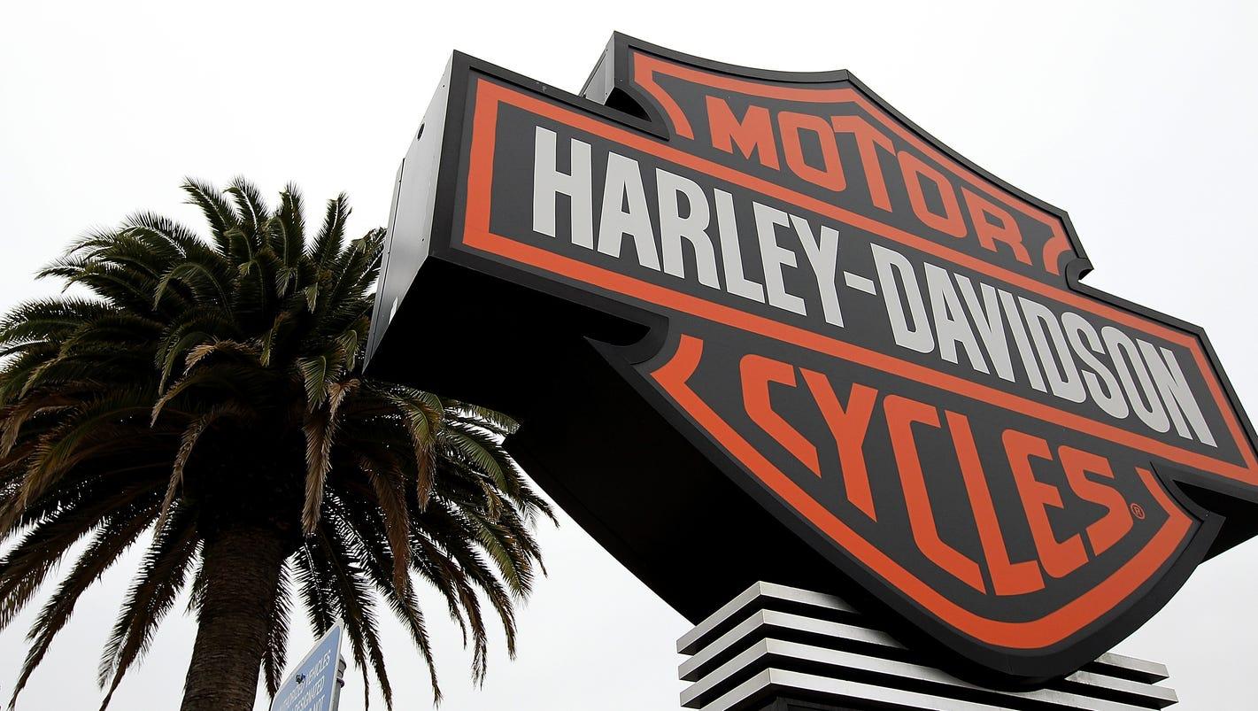 Harley-Davidson profit falls, dinging HOG stock