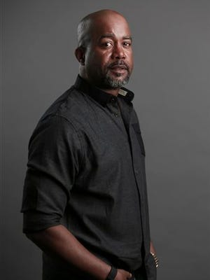 Singer Darius Rucker poses for a portrait on Tuesday, March 31, 2015 in New York. (Photo by Amy Sussman/Invision/AP)