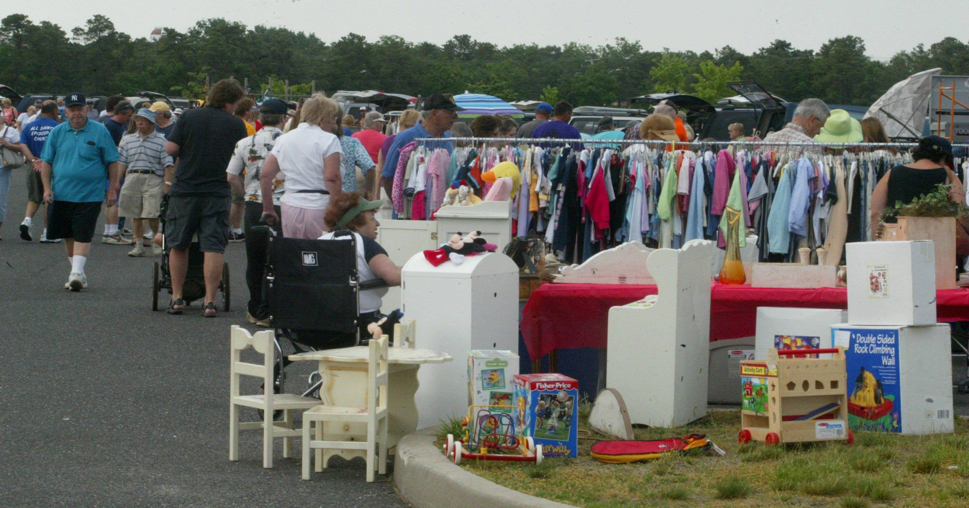 Big yard sales today in Asbury Park, Ocean Grove