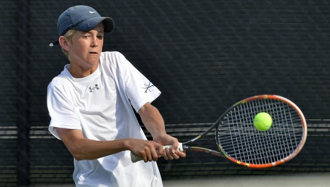Greer's Matthew Pitts is the No. 2 seed in the Boys 14s division at this year's Palmetto Championships in Belton. He's one of several Greenville-area players seeded in the younger divisions.