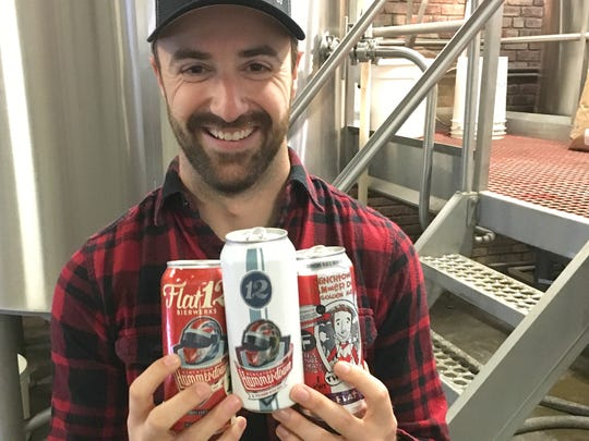 IndyCar driver James Hinchcliffe offers up pilsner-style Hinchtown Hammerdown, available now from Flat 12 Bierwerks. On May 6, the brewery releases its The Bricks, a brick red IPA created in honor of the 100th Running of the Indianapolis 500.